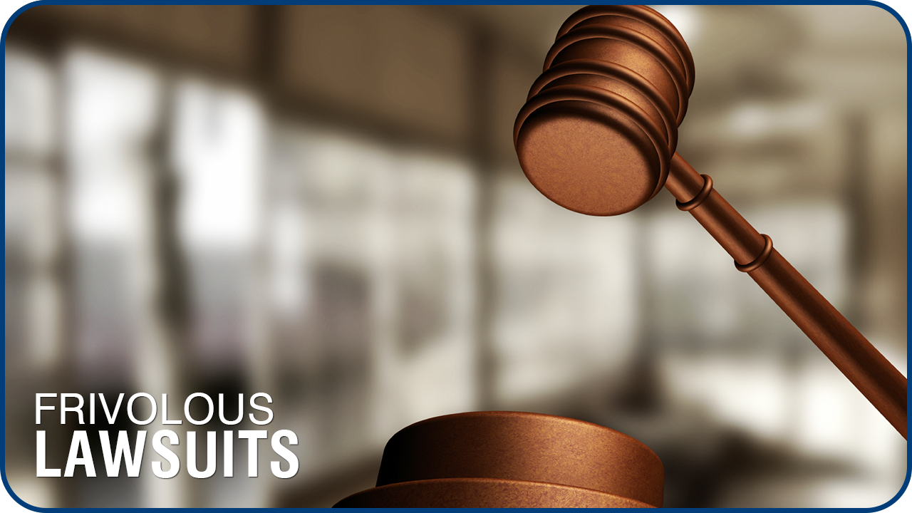 Frivolous Lawsuits What Are The Misconceptions North